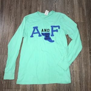 Abercrombie & Fitch Muscle Tee, Long Sleeve, Med